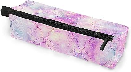 Estuche para gafas, diseño de sirena, color rosa: Amazon.es: Oficina y papelería