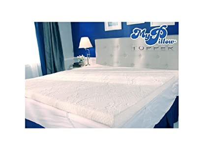 mypillow com mattress topper Amazon.com: MyPillow My Pillow Three inch Mattress Bed Topper  mypillow com mattress topper
