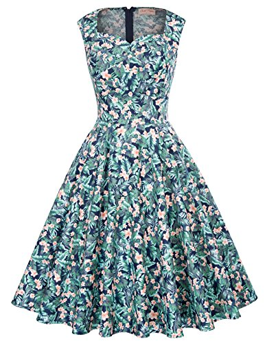 A-Line Wedding Dresses for Women Floral Print Size L BP105-10