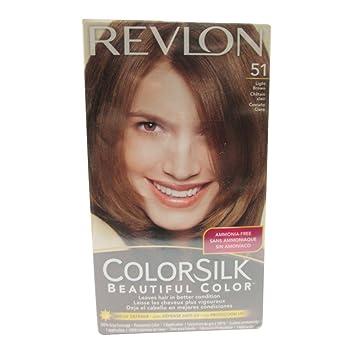Amazon.com: Revlon ColorSilk Hair Color 40 Medium Ash Brown 1 Each ...