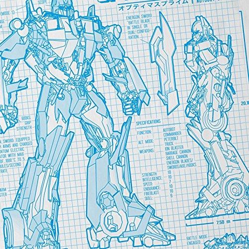 Autobot os Optimus Blanco Prime Azul para Camiseta Hormiga ni Dibujo wfv7Sxq