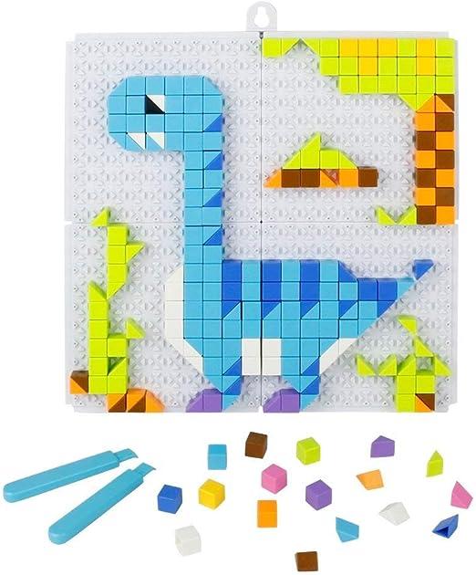 Puzzle Mosaico, Mosaicos Infantiles, Juego Mosaico Pinchos ...