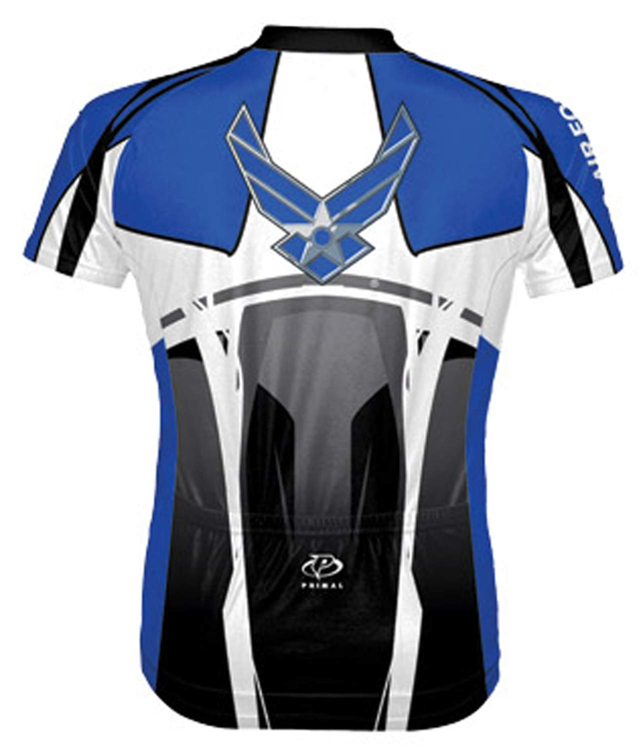 Air Force Stealth - 2XL AFT1J20M Primal Wear Mens Air Force Stealth Short Sleeve Cycling Jersey