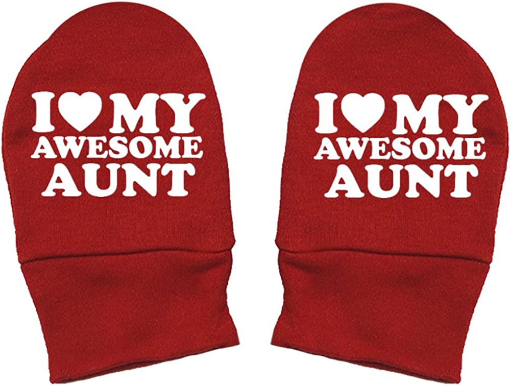 My Awesome Mimi Thick Premium Thick /& Soft Baby Mittens Red Heart Fun /& Trendy I Love Mashed Clothing Unisex-Baby