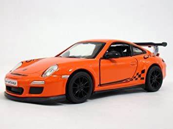Porsche 911 GT3 RS 1/36 Sclae Diecast Model Car - ORANGE