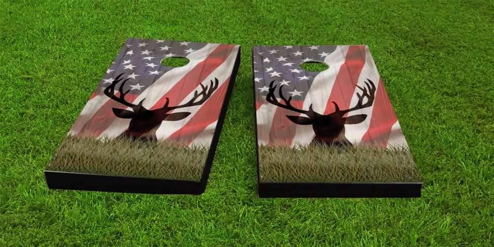 正規品 Skip's Garage アメリカ鹿退色コーンホールボード Flag Flag - バッグとアクセサリーを選択 - ボード2枚 (Weather)、バッグ8枚など B07P61KYKD 9) American Flag Bags (Weather)|P. 全アクセサリー付属 9) American Flag Bags (Weather), イシゲマチ:59bf9a10 --- arianechie.dominiotemporario.com