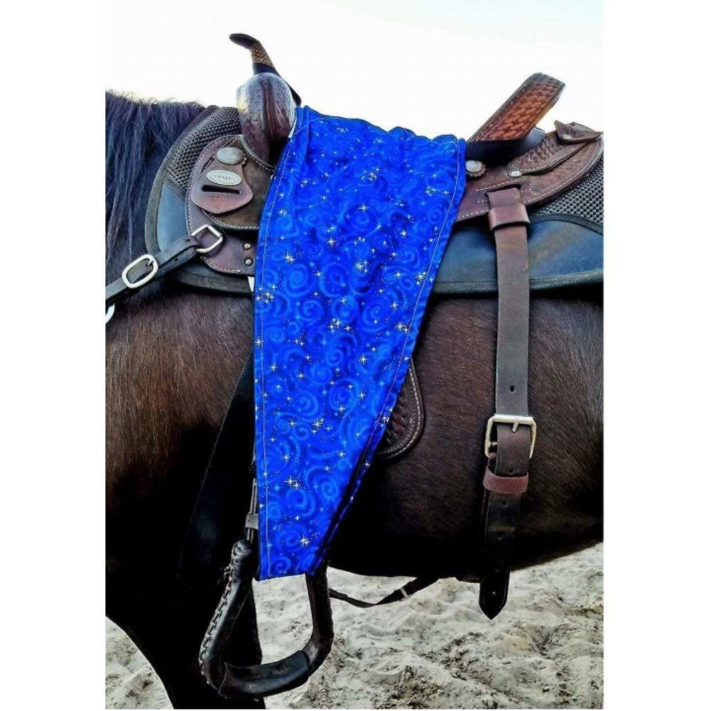 Cotton//Poly Blend Saddle Slinkie Ride Comfortably in Shorts Machine-Washable. Designer Patterns for Adult Western Saddles Prevents Blue Jean Stains