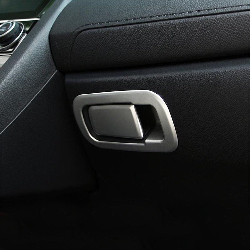 DeAutoBug ABS Matte Finish Glove Box Handle Decoration Cover Trim for Honda Civic 2016 2017 (a Set of 2)