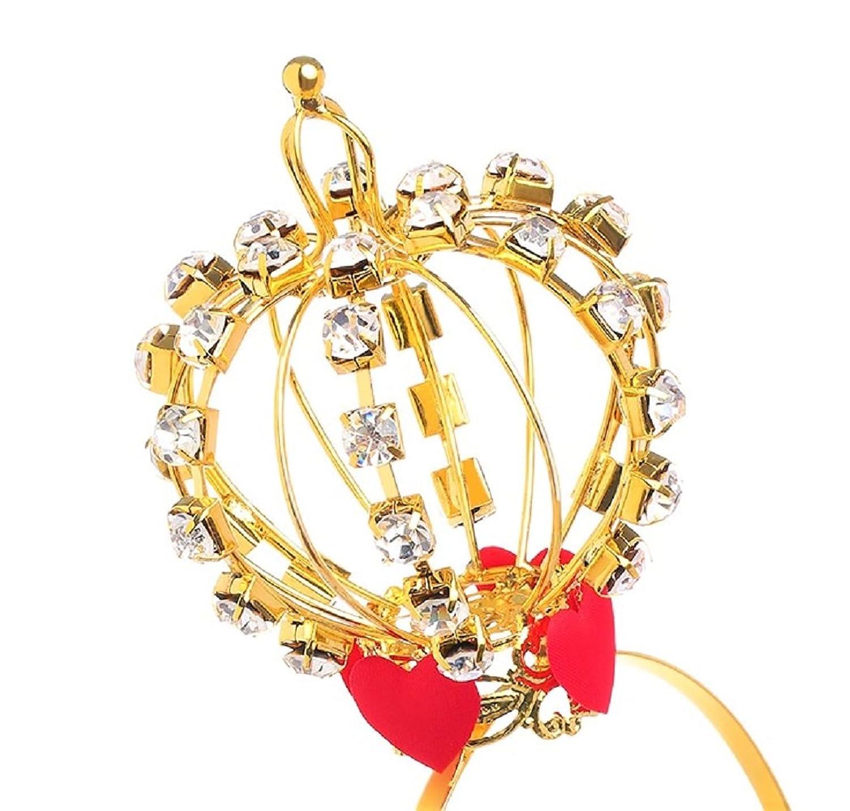 Women's Queen of Hearts Tiara Costume Crown - DeluxeAdultCostumes.com
