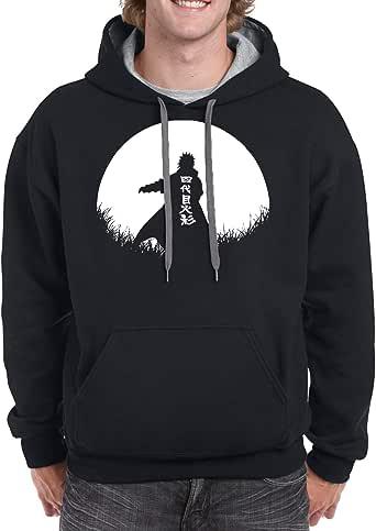 Black Unisex Gildan Hoodie - Minato – Half Circle design