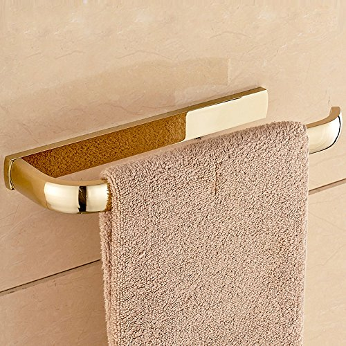 ETmla Copper plated European luxury towel ring towel hanging bathroom hardware pendant by ETmla (Image #2)
