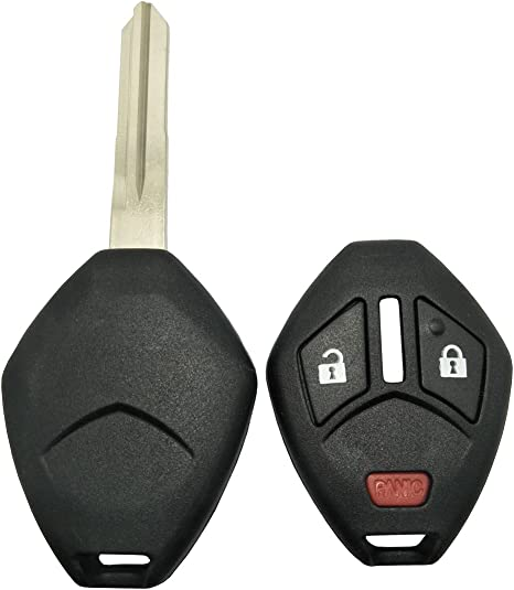 4 Buttons For Mazda Blank Replacement Remote Key Fob Cover Case Shell with Pad