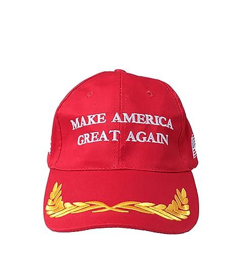 460eb117a1e Amazon.com  Make America Great Again Hat (Red)  Clothing