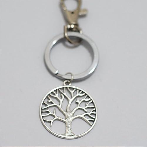Amazon.com: Llavero de árbol de la vida, llavero precioso ...