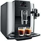 Jura 15097 E8 Coffee/Espresso Machine, Chrome