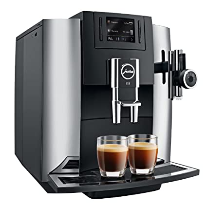 Buy jura e8 automatic coffee machine chrome online at low prices in jura e8 automatic coffee machine chrome fandeluxe Images