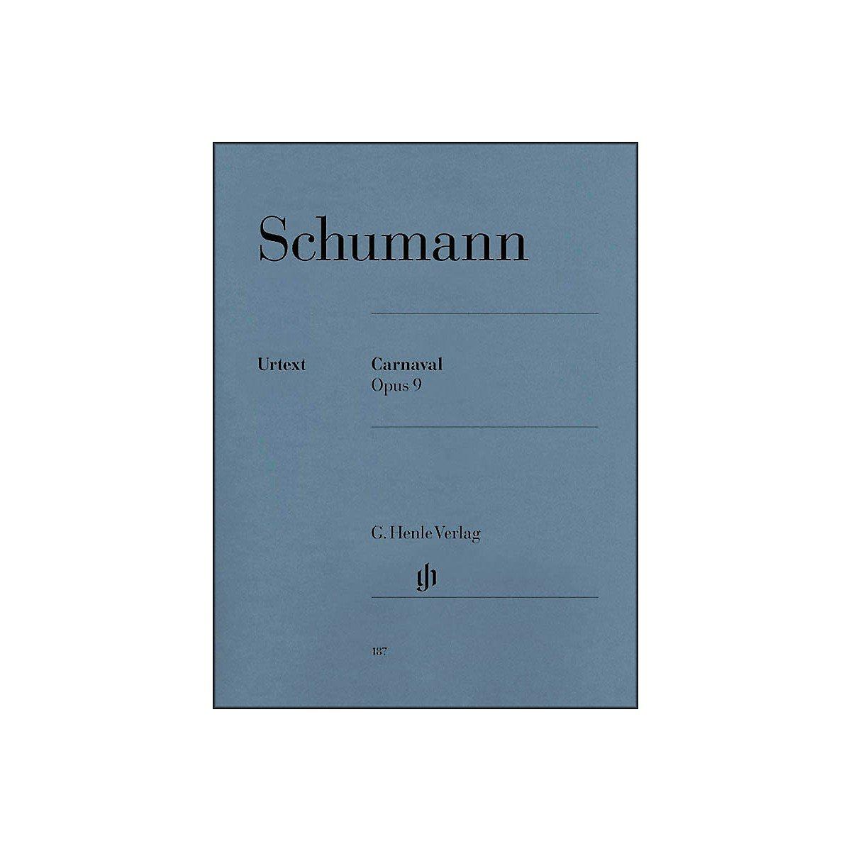 Carnaval Op  9 Softcover: Schumann: 0884088173883: Amazon com: Books