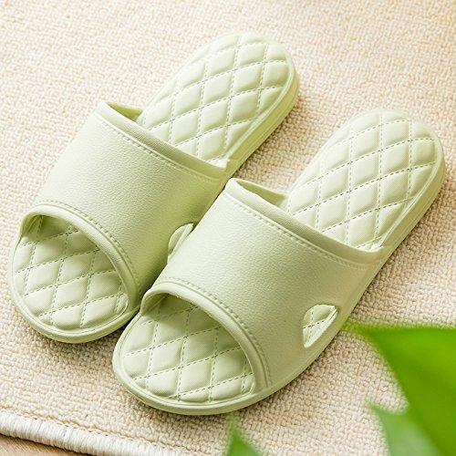 con suaves masculinas nbsp;El de verano verde 39 baño suelo deslizarse baño de la chica en de habitación casa zapatos parejas cuarto un Fankou del estancia 38 espesor zapatillas 6HqwYH