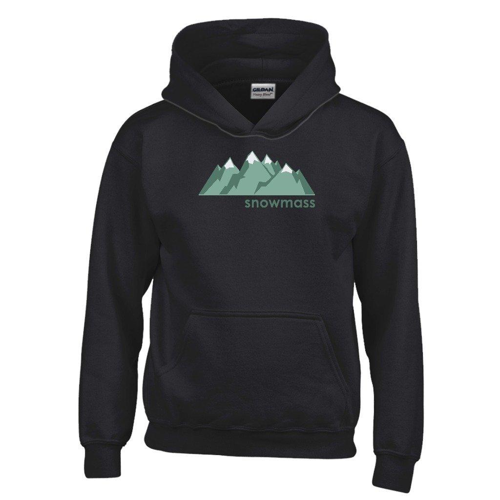 Tenn Street Goods Snowmass Mountain Range Youth Hoodie Colorado Kids Sweatshirt