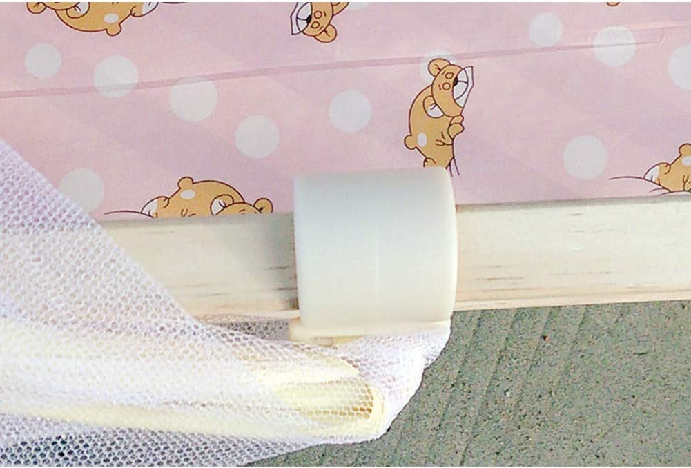 Maternal baby FairOnly Baby Summer Cradle Mesh Mosquito Net Foldable Large Size 100x60CM Baby Arched Mosquitoes Net Portable Crib