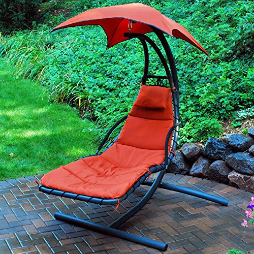 Algoma Cloud 9 Hanging Lounger Sun Adjustable Floating Chaise Lounge