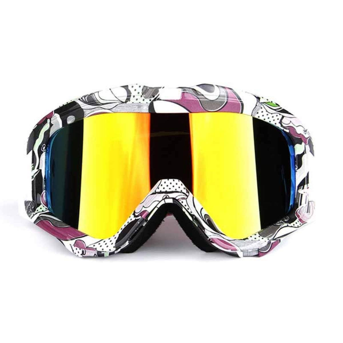 Exquisite anteojos de esquí para adultos, marco grande ...