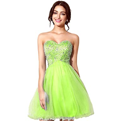 Belle House Homecoming Dresses 2018 For Juniors Short Prom Dresses Strapless With Beading SD034
