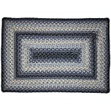 Cheap Homespice Rectangular Outdoor Braided Rugs, 27 by 45-Inch, Juniper