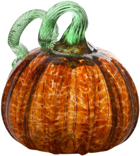 Kitras 6-Inch Small Pumpkin Home Decor, Rust