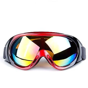 Road&Cool Gafas De Esquí Sol Máscara Hombres Y Mujeres Arena ...