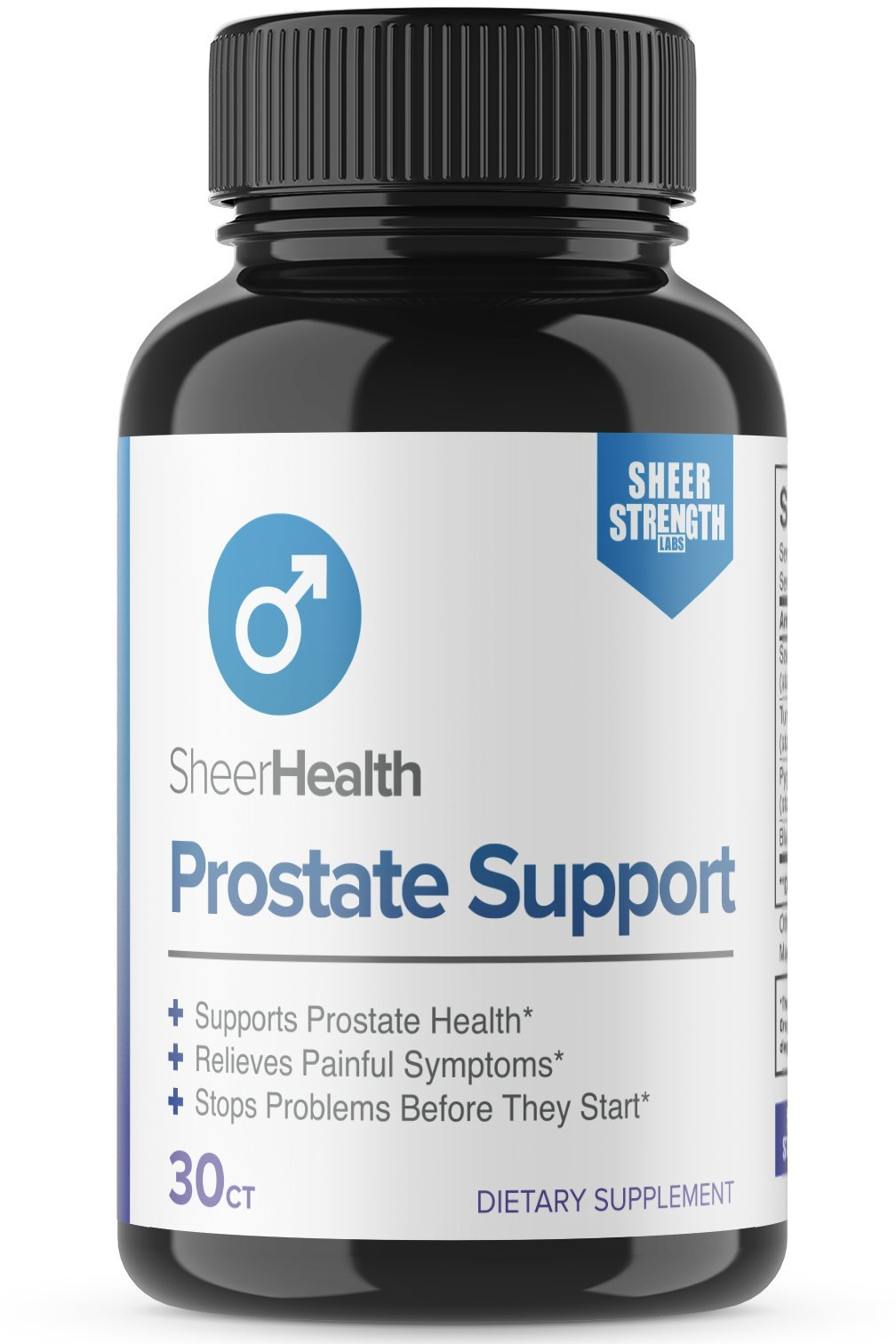 Saw Palmetto Prostate Support Supplement - Natural Herbal Blend for Reducing Frequent and Painful Urination and Boosting Libido and Blood Flow, 30 Prostate Supplements Capsules