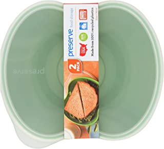 product image for 2 Pack of Preserve Square Food Storage Set - Green - Set of 2-Reusable Containers