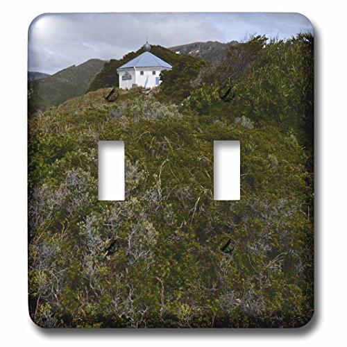 KIKE CALVO Patagonia ISLA DE LOS ESTADOS - San Juan the Salvamento Lighthouse, Tierra de Fuego, Argentina - Light Switch Covers - double toggle switch (lsp_233760_2)