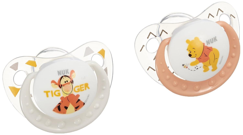 NUK Disney Winnie l 'Ourson 2 Sucettes Taille 2 (6-18 mois) Nuk Winnie 80602988
