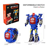 Epoch Air Transformers Toys Watch, 2 In 1 Robot