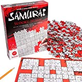 Sodoku Jigsaw Puzzle - Solve The Samurai Sudoku - Finish The 550 Piece Floor Puzzle (24   x 18  )