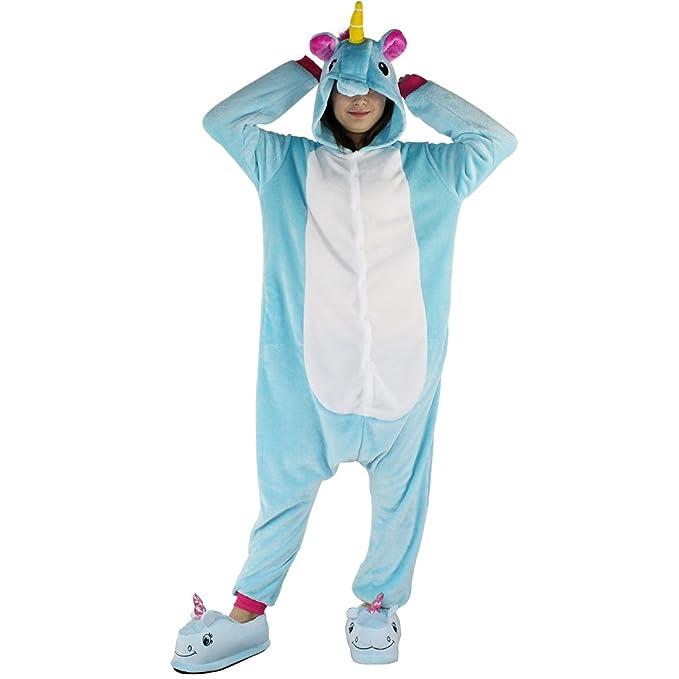 selezione premium 31c89 ca1c6 Pigiama Unicorno Adulto - Dizoe Animali Kigurumi Carnevale ...