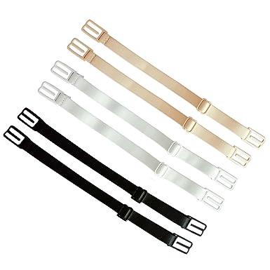 Boodtag 3Paires Maintien Bretelle de Soutien Gorge Anti Slip Elastique  Invisible Adjustable Cache Bretelle 9415e092ef2