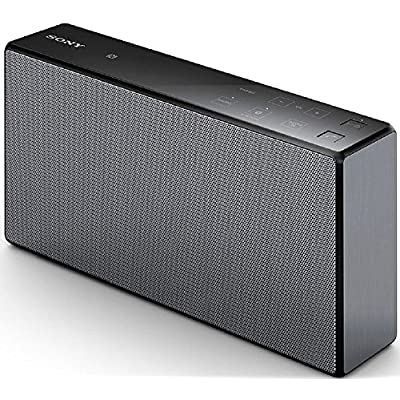 Sony srsx-55       Portable Speakers  30  W  Wired Wireless  NFC Bluetooth 3 5  mm  Bluetooth  Rectangle  Black