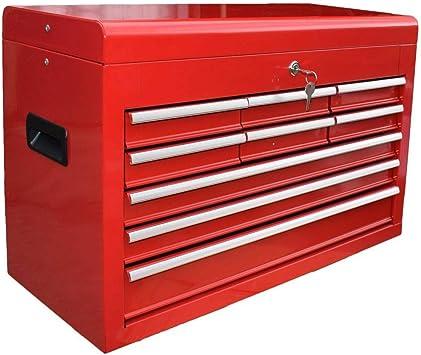 Toolbox - Caja de herramientas con 9 cajones: Amazon.es: Bricolaje ...