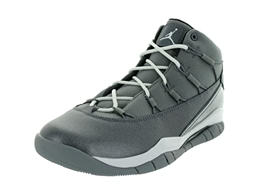Nike Jordan Kids Jordan Prime Flight (GS) Cool Grey/White/Anthracite  Basketball