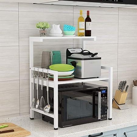 Organizador cocina Cocina estante del horno microondas ...