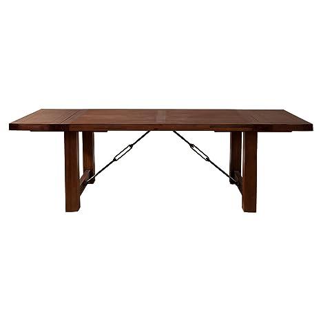 Amazon.com: Alpine Muebles Pierre mesa de comedor – Antiguos ...