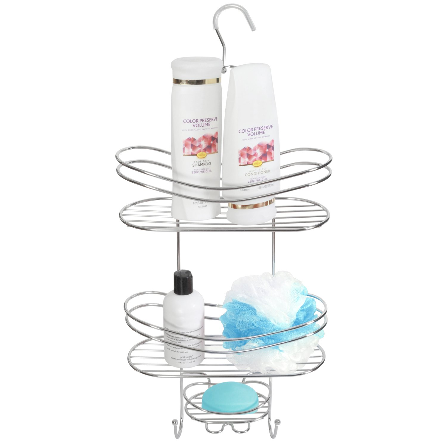 Attractive Amazon.com: Shower Wall Caddy   Stainless Steel   Rust Free Guarantee: Home  U0026 Kitchen