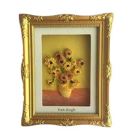 Weekinglo Souvenir Van Gogh Pintura Girasoles Países Bajos Imán de ...