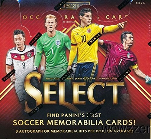 2015 Panini Select Soccer Factory Sealed HOBBY Box with T...