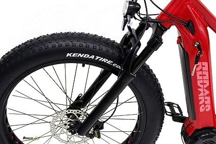 Rodars Bicicleta eléctrica de Montaña FatBike MTB eBike Kraken 1000W 48V 14Ah Samsung 55km/h Autonomía 45-60km: Amazon.es: Deportes y aire libre