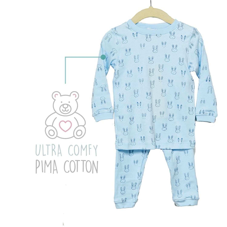 Amazon Noomie Baby Boys & Girls Two Piece Pajamas Made With 100