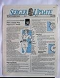 img - for Serger Update Vol. 7 No. 3 June 1993 book / textbook / text book