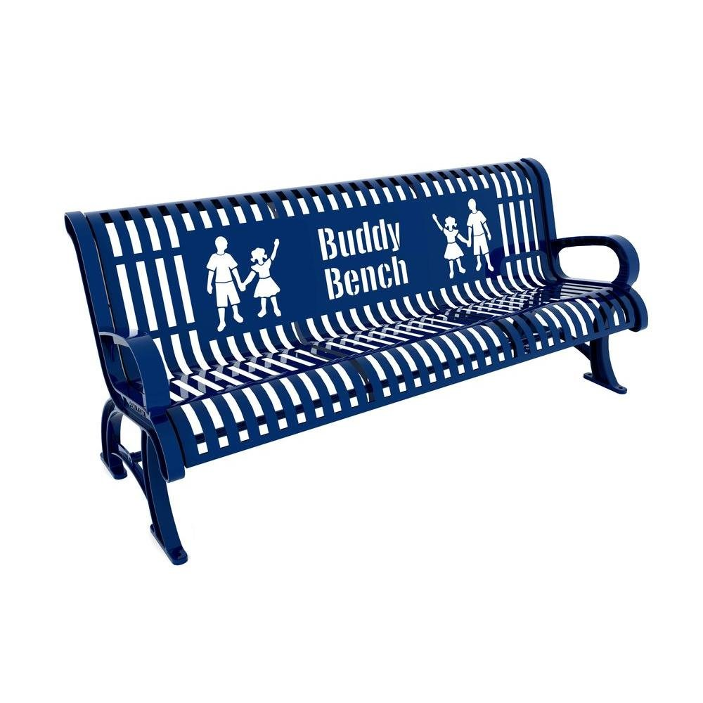 Amazon.com: Paris 6 ft. Red Premium Buddy Bench: Electronics